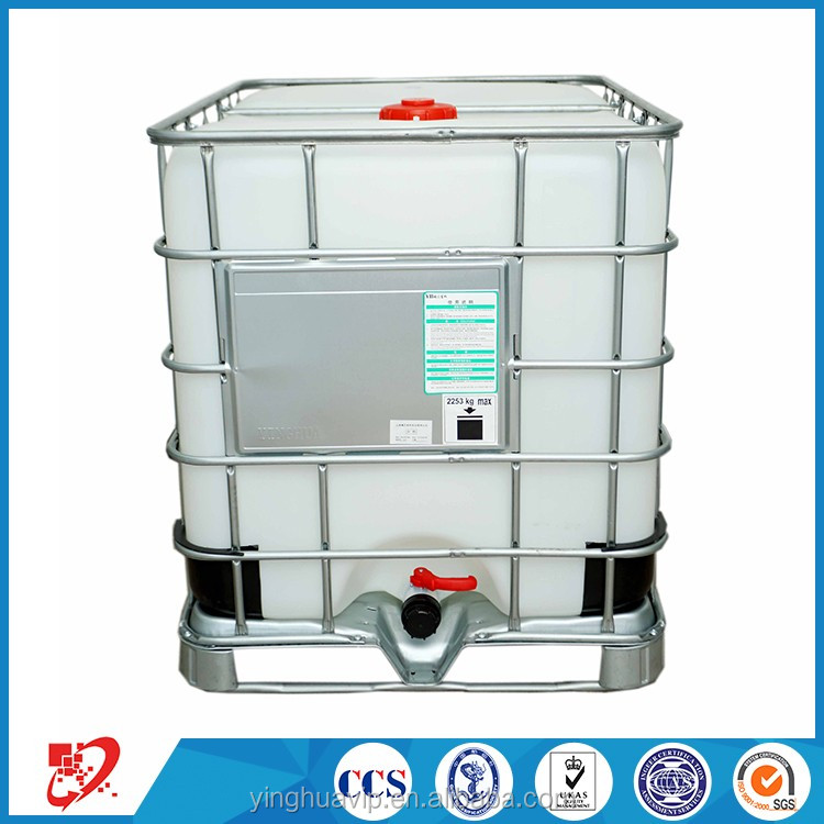 1000L Large Stainless Steel hdpe IBC Container for Oil storage and transportation