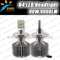 Hot new products for 2015 4500LM 45w fashion accessories h4 high power led auto headlight