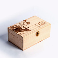 Caoxian Factory Packing Custom Wooden Tea
