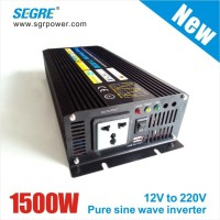 dc12V to ac220v solar power inverter 1500W
