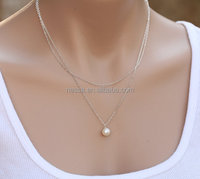 Fashion freshwater pearl necklace wholesale NS-C175