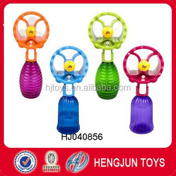 2017 newest water spray fan,funny fan toy HJ040856