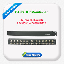 Analog headend solution 860MHz 12 channel catv combiner