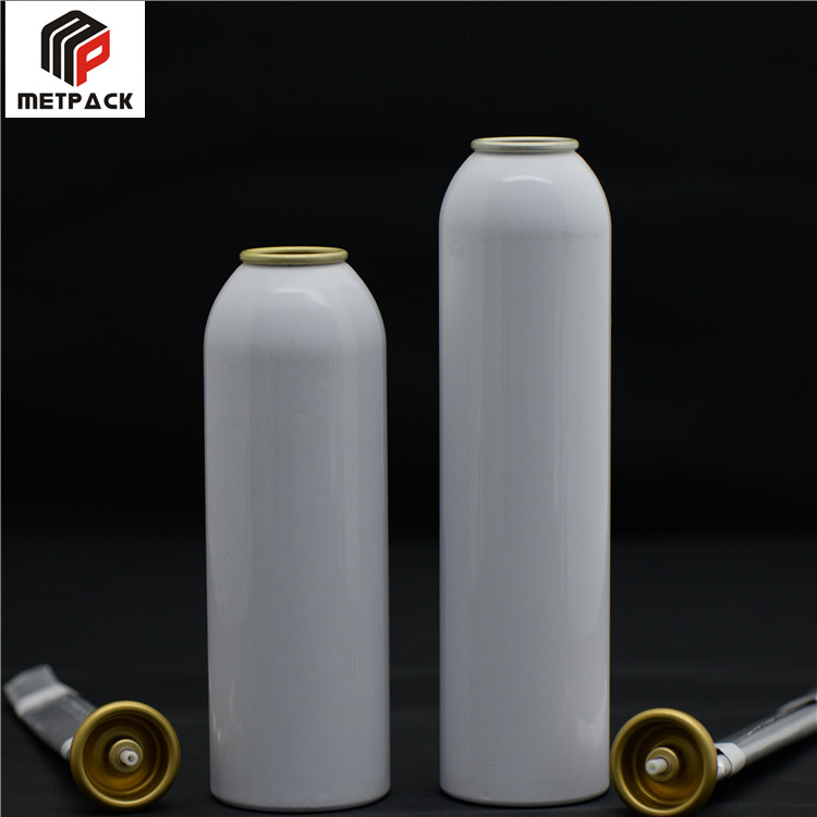 250ml empty aerosol aluminum can with new dimensions