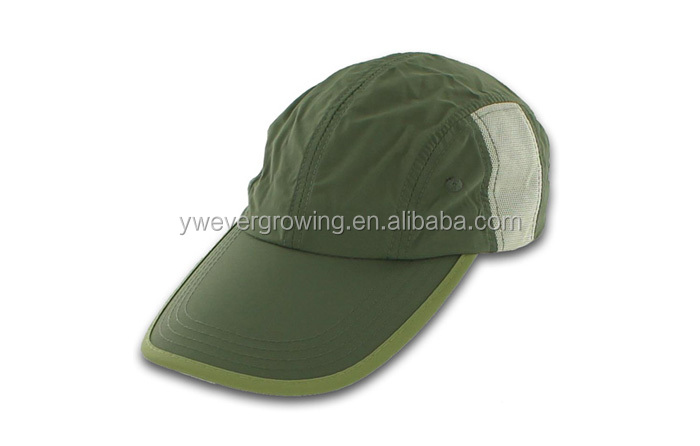 2014 polyester wholesale New color long brim baseball caps