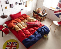 Free Shipping, 4pcs Bedding Set, twin, full, queen/king size, 4 pcs bedSheet, Bed linen/Bedclothes/Duvet Cover set