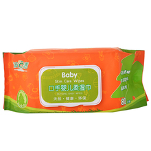 Baby and Adult Antibacterial Wet Tissue Paper Face Wet Wipes Private Label