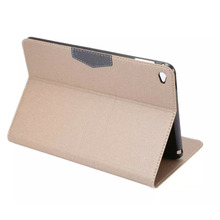 New style PU Leather Magnetic Wallet tablet Case Cover for Apple iPad Mini 4 tablet accessories