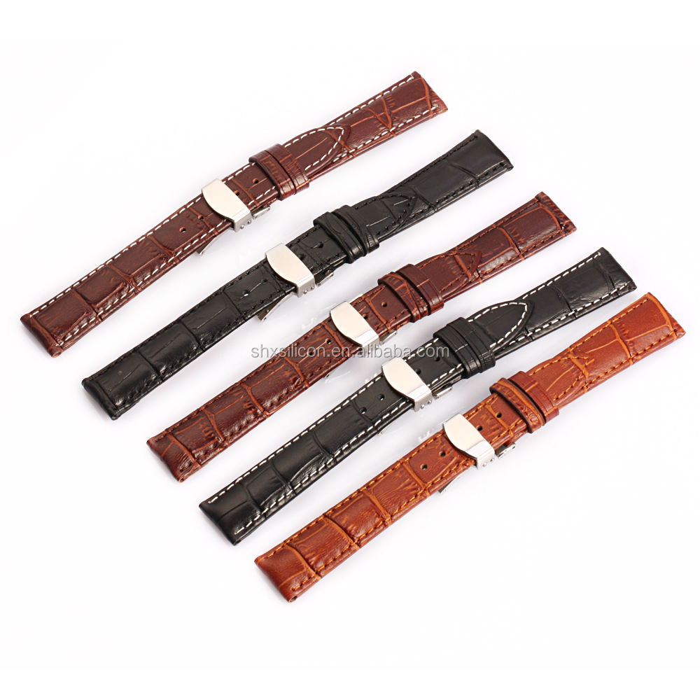 Luxury Mens Handmade Leather Watch Strap