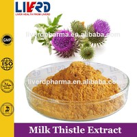 Chinese Herbal Milk Thistle Extract Silymarin