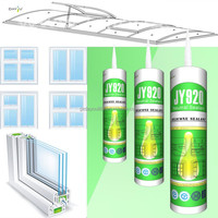General purpose neutral silicone / silicon sealant for gap filling / transparent silicone sealant