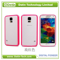 High quality mobile phone Soft TPU case for Samsung Galaxy S5