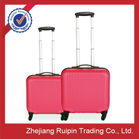 cheap suitcase,wheels for suitcase,red white and blue luggage