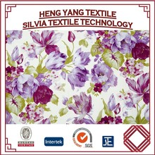 Upholstery fabric sofa covers chair cover floral printed sat China manufacturer 100% polyester printed fabric