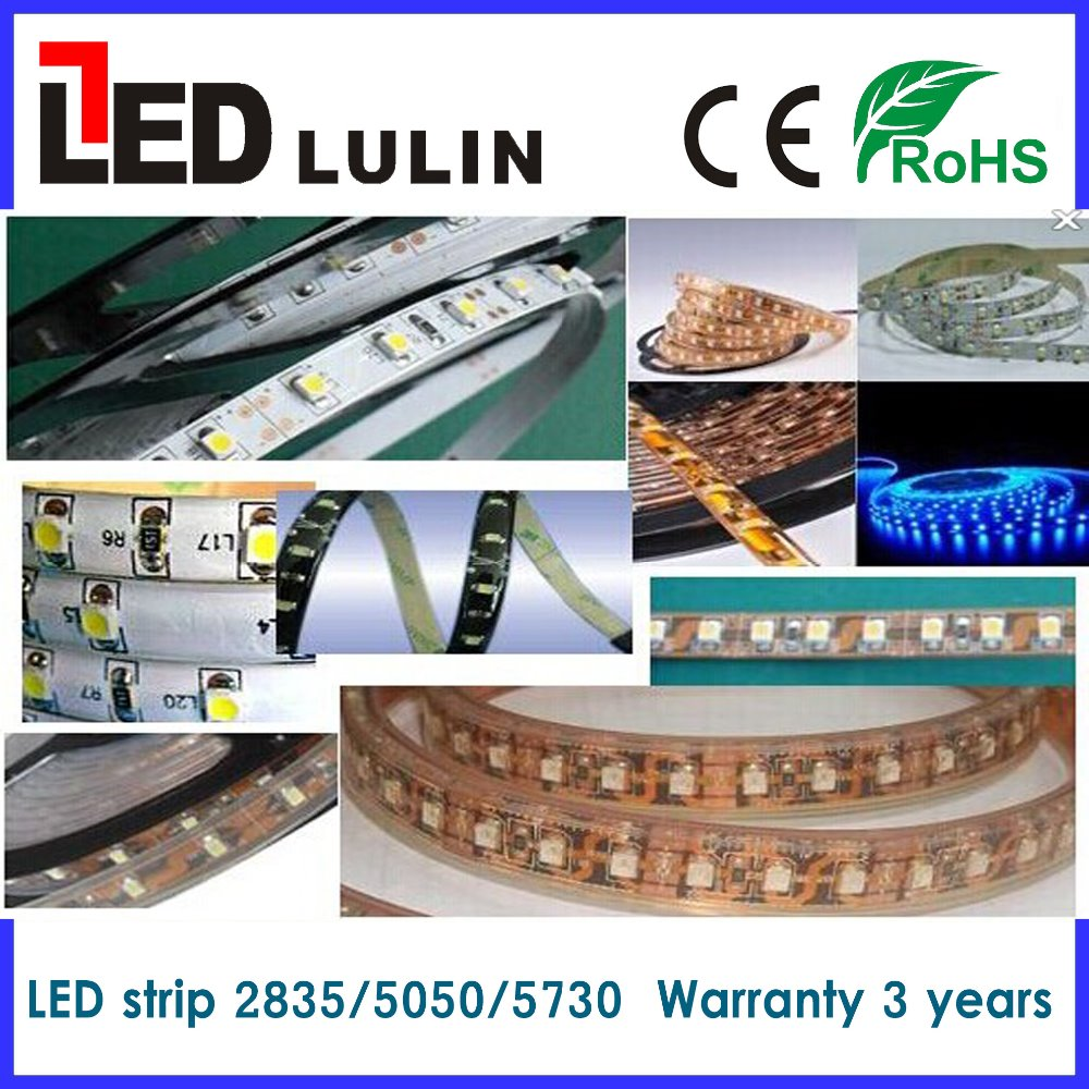 led strip rgb low voltage 12V non waterproof 5050 3528 led flexible strip light