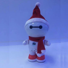 Christmas Gift Snowman Blue tooth Portable Speaker with TF Card USB Music