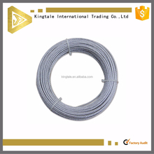 Kingtale Zinc Plating High Carbon Steel For Tower Crane Steel Wire Rope