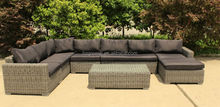 popular high-end patio furniture model 0353 5mm ROUND rattan