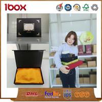 black color craft magnet luxury gift cardboard box