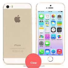Crystal Clear Soft TPU Gel Slim Transparent Case For iphone SE 5 se