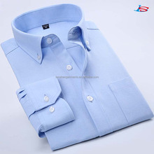 New designs solid color oxford dress shirt