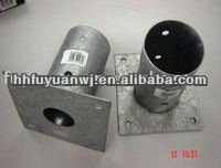 hot -dipped galvanized round pole anchor box for construction