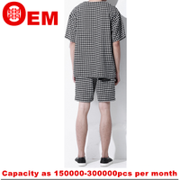 Noble style Houndstooth T shirt Wholesale To Conquer the Market