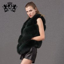 Chinese supplier sale lows cost Waistcoats real fox fur womens coats