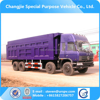 Dongfeng 8X4 used tipper trucks
