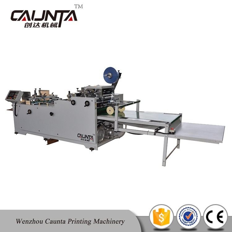 PET Carton Small Business Window Film Pasting Machine for Sale
