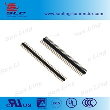 Electronic connector Dual Row 12 P Pitch 2mm 90 degree Pin header