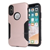 Bulk sale protective shockproof hybrid phone case for iphone x, dual layer hard back for iphone x case cover