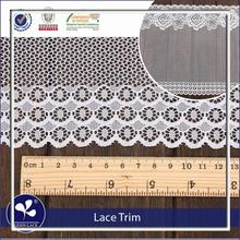 hot sale fabric Manufacturer grey lace trim