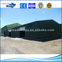 China low cost hot dip galvanized steel structure workshop / factory / warehouse