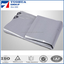 hot selling trailer cargo silver heavy duty pe tarpaulin cover