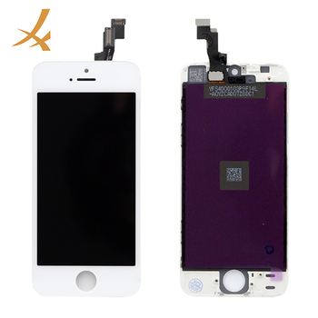 Hx 100% original lcd para o iphone 5 digitador display lcd tela do telefone móvel