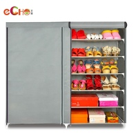 2016 Hot-Sale Portable New Design Shoe Rack With Cover ,shoes rack for lidl