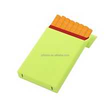 Colorful High quality silicone material cigarette packet slim cigarette case