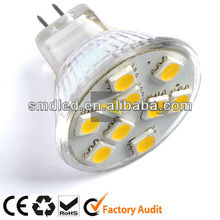 glass body led bulb mr16 12v