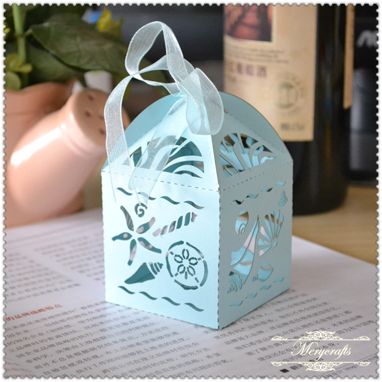Popular factory price beautiful wedding souvenir gift favor boxes
