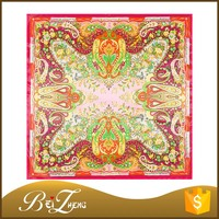 Paisley Design Bohemian Art Silk Like
