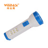 Hot Selling outdoor safety hand crank led solar torch light