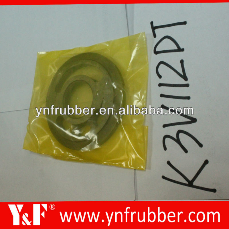 Excavator hydraulic main pump parts Kawasaki K3V112DT hydraulic parts