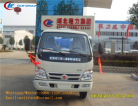 factory selling Foton 3 4 5cbm high pressure vacuum suction truck Fecal Transportation tank truck with good price
