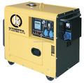 5KVA Silent diesel generator with ATS