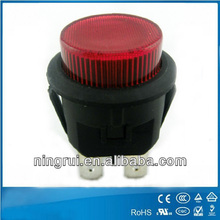 momentary latching push button switches used button hole sewing machines