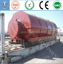 Brand new 5/10 tons waste plastic/ rubber/tyre to oil recycling pyrolysis plant