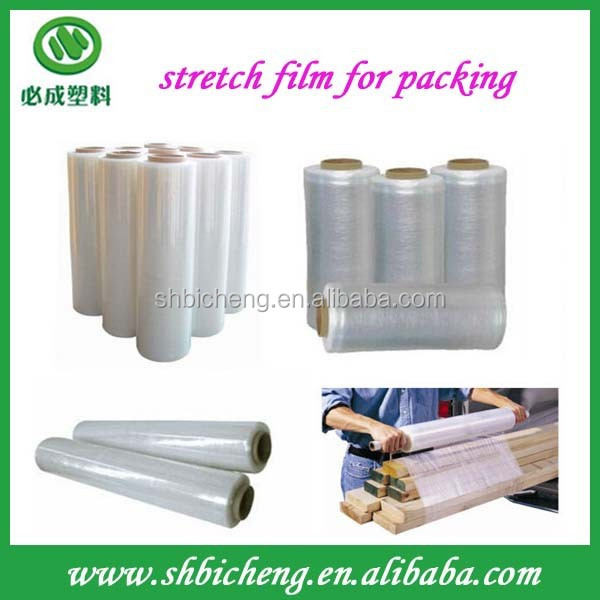 transparent protective and jumbo lldpe stretch film for wood