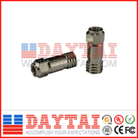 RG6/RG11 crimp connector,catv crimp connector/tv cable male connector,crimp tool supply/jewelry crimp connectors