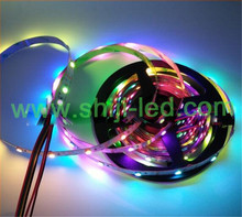 Programmable 5050 RGB dream color ws2811 led strip light,CE ROHS